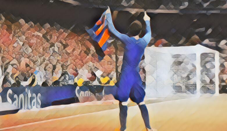 Messi marca o gol de número 500, no el clasico