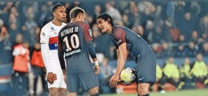 Problemas entre Neymar e Cavani