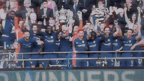 Chelsea é campeão da Copa da Inglaterra 2018 - FA Cup