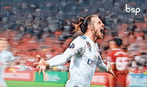 Bale decide a Champions League contra o Liverpool