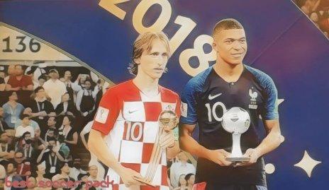 Modric é o melhor jogador da Copa, Mbappé é a revelação