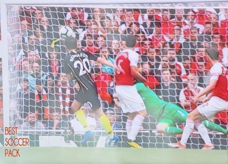 Bernardo Silva segundo gol contra Arsenal