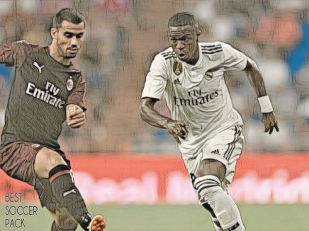 Vinicius Jr no Real Madrid B