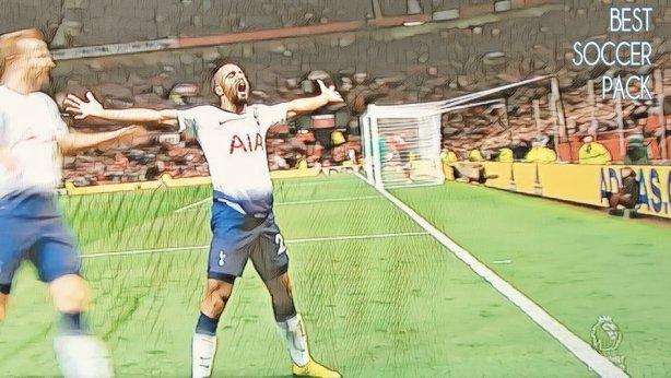 Lucas Moura marca dois gols contra o United 3x0 Tottenham