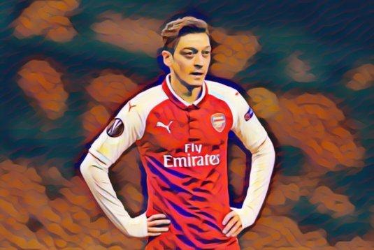 Mesut Ozil é um grande problema do Arsenal