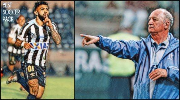 Gabriel Gabigol Barbosa Felipe Scolari Big Phil Santos Palmeiras 2018