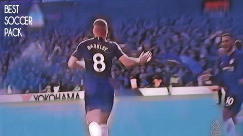 Barkley comemora o gol de empate Chelsea United