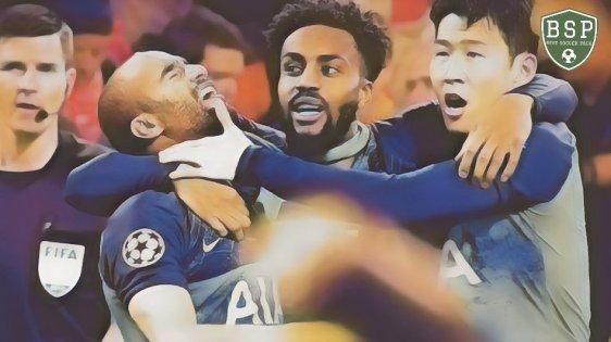 Lucas Moura hat trick incrível Ajax 2x3 Tottenham