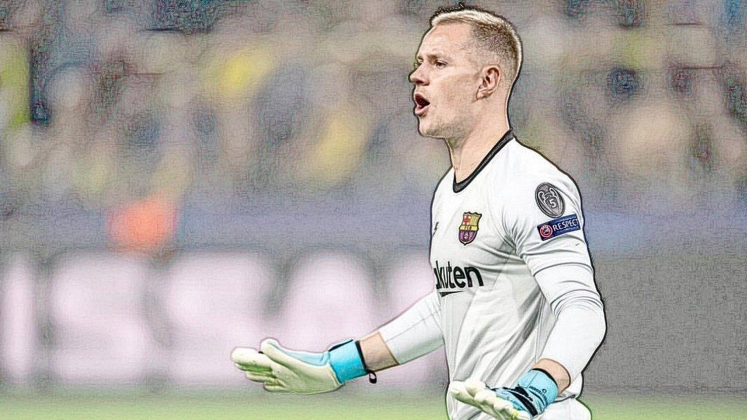 Ter Stegen melhor goleiro do mundo Barcelona